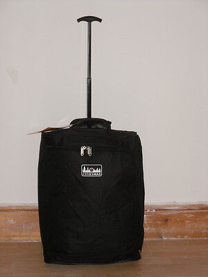 Super Lightweight MAX Carry On FRAMELESS Cabin Friendly Hand Luggage Trolley Bag