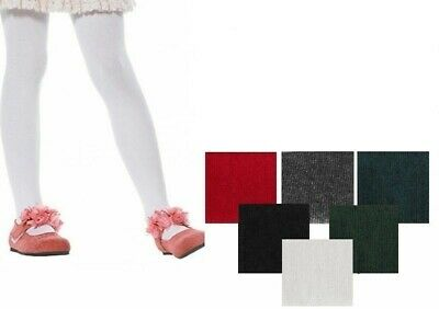 3 Pairs  Luxurious Quality Girls Kids Footed School Nifty Party Tights All size