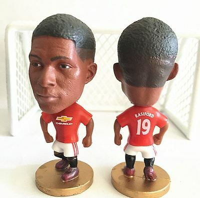 Statuina doll MARCUS RASHFORD 19 MANCHESTER UNITED 1617 football action figure