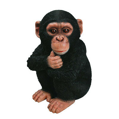 Baby Chimpanzee Garden Ornament by Vivid Arts XRL-CHM2-F