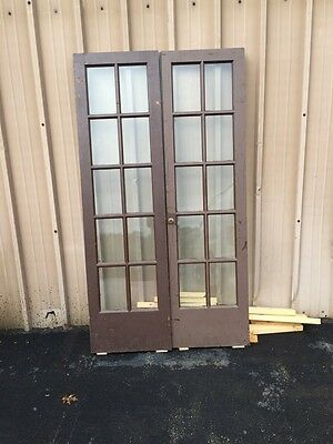 Cm 80 2 Sets Price Separate Antique French Doors 44 Inch