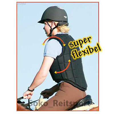 USG safety vest Flexi Black, jumping vest, safety riding vest,children,adult TOP