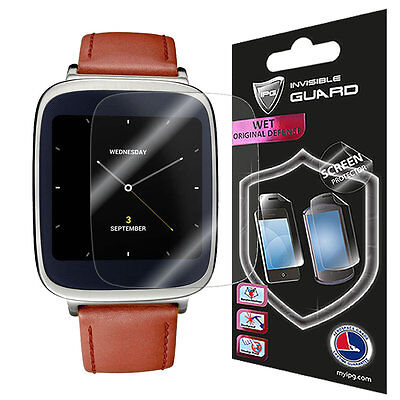 IPG Asus ZenWatch Screen Invisibe (2X) Protector Anti-Bubble / Touch Respons