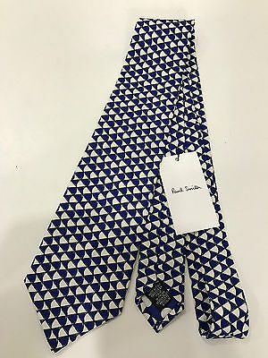 Paul Smith Classic Tie 9cm 100% Silk MAINLINE Made in Italy