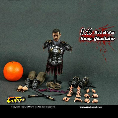 CMTOYS H006 Roman Gladiator CLOTHING+HEAD 1/6 scale Action Figures soldiers toys