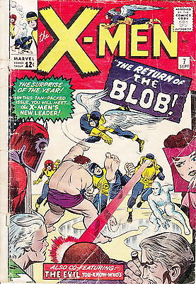Marvel X-MEN #7 1964 Good Condition