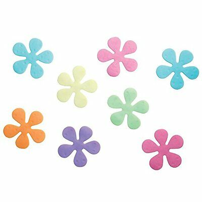 InterDesign Floral Non-Slip Safety Treads for Shower/ Bathtub, 4-Inch, Set of 8,