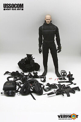 VERYHOT diving Soldier Kelpie UDT SEAL CLOTHING SET 1/6 scale Action Figure doll