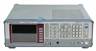 Rohde & schwarz EFA Model 20 Demodulation digital DVB-C opt B1 2067.3004.20
