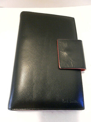 Paul Smith Organizer/Day Leather black Planner