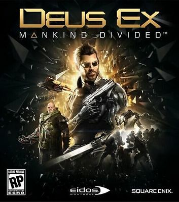 Deus Ex Mankind Divided Digital Download [Steam] [PC] [FR/EU/US/AU/MULTI]