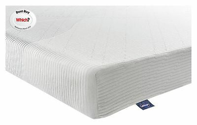 Silentnight 3 Zone Memory Foam Micro Quilted 3 Zoned Mattress - 3FT Single:Argos