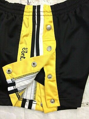 AIR CONTROL Shorts Buttons Side Pressions True Vintage Old School Warm Up Sport