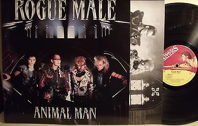 Lp-Rogue Male-Animal Man-1986 Music For Nations-N.mint