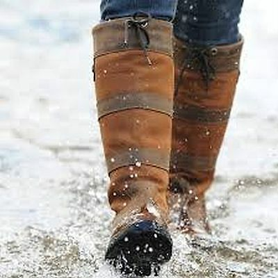 New Dublin River Boots Waterproof Chocolate Riding Walking