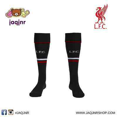 Official New Balance Soccer - LIVERPOOL FC THIRD KIT SOCKS *Size 3-6* Large Boy