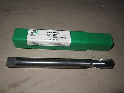 "New Precision Twist (USA) 9/16"" (.5625) Solid Carbide Drill 6-1/8"" Long  ptd"