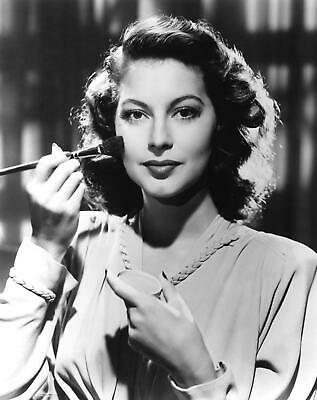 Ava Gardner Film Actress Glossy Black & White Photo Picture Print A4