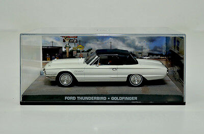 James Bond Modellauto-Collection Ford Thunderbird