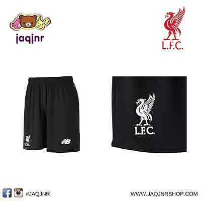 Official New Balance Soccer - LIVERPOOL FC KIDS BLACK SHORTS *Size - Small*
