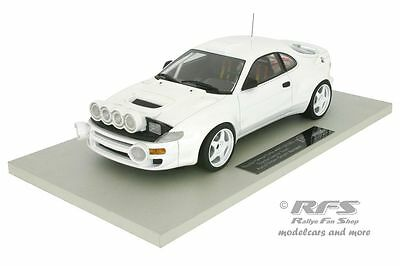 Toyota Celica Turbo 4WD ST185 - Rallye Test Car Auriol  1993 1994 - 1:18 TOP034W