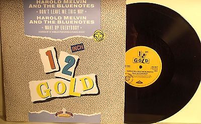 "LP 12""-Harold Melvin & The Blue Notes 1/2 GOLD-DON'T LEAVE ME..."