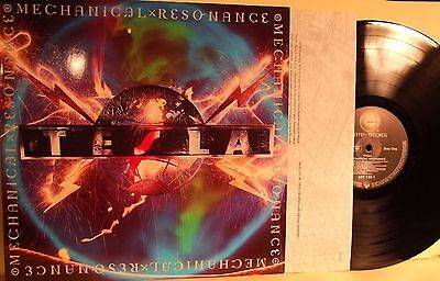 Lp-Tesla-Mechanical Resonance-Germania 1986-N.mint