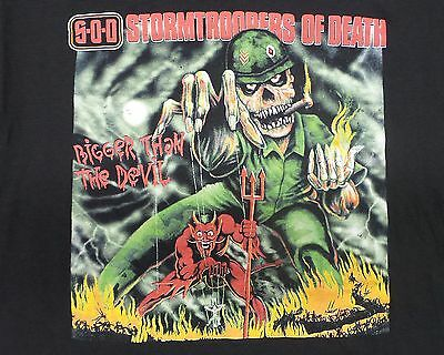 Vintage Sod Stormtroopers Of Death T-Shirt New Without Tags Xl Tt32