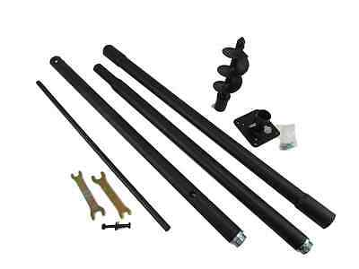 Squirrel Stopper Universal Mounting Pole Kit, Great for bird house & bird Feeder