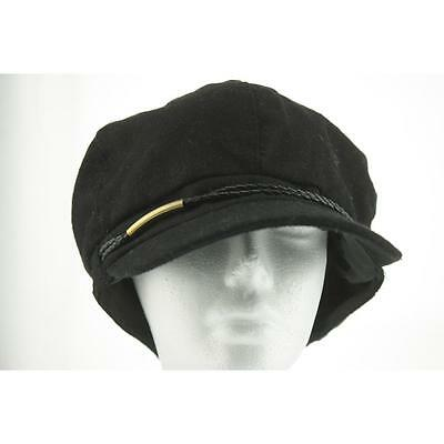 Nine West Women's Hat Newsboy / Cabbie One Size Black New Polyester Limited LAFO