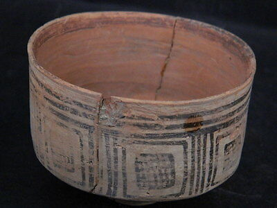 Ancient Teracotta Painted Pot Indus Valley 2500 BC  #PT15680