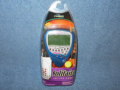 2003 Tiger Games Solitaire 59200 Handheld Electronic Casino Game - Rare - New