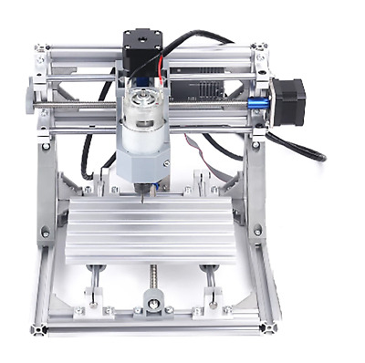 DIY CNC Router Kit 16x10 Mini 3 Axis Wood Carving Engraving Machine PCB Milling