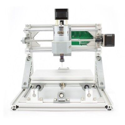 Hobby DIY CNC 1610 Mini 3 Axis CNC Router Kit PCB Milling Wood Carving Machine