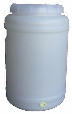 20 lt Litre Water Storage Container Plastic Fermenter Drum Barrel Tank Home Brew