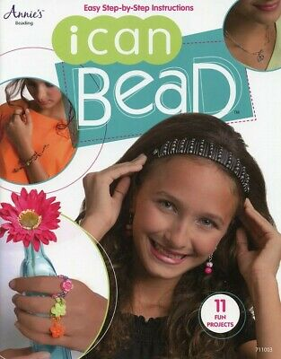 I Can Bead Annie's Young To Old Instruction/Pattern Book NEW - 30 Days To Pay!