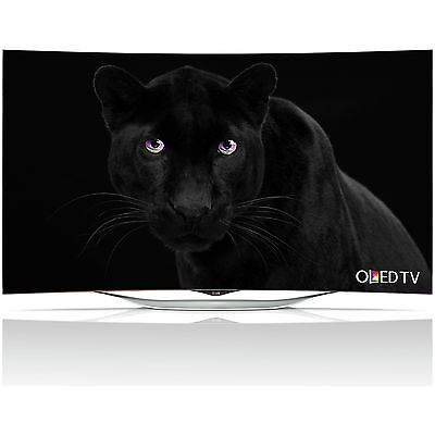 LG 55EC930 55 Inch Full HD 1080p Freeview HD Smart 3D Curved OLED WiFi TV:Argos