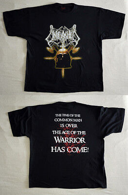 """Unleashed official T-shirt """"Axe and helmet"""" black  NEW (XL)"""