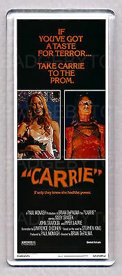 CARRIE movie poster 'WIDE' FRIDGE MAGNET  -  STEPHEN KING Horror Classic!