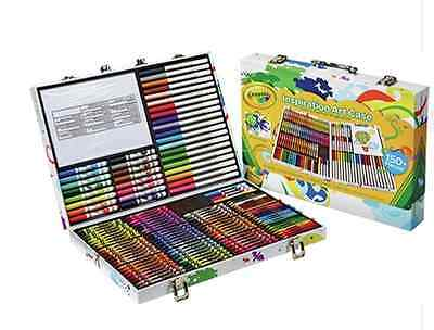 Kids Crayola Inspirational Art Case Childrens Pencils Crayons Drawing Set Gifts
