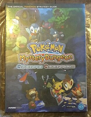 *NEW* Pokemon Mystery Dungeon Official Strategy Guide Sealed Rpsbooks