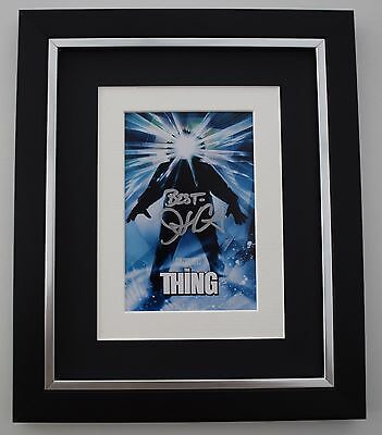 John Carpenter SIGNED 10X8 FRAMED Photo Autograph Display The Thing Film COA