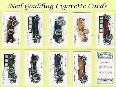 Lambert & Butler - Motor Cars (3rd Series) 1926 #1 to #50 Cigarette Cards