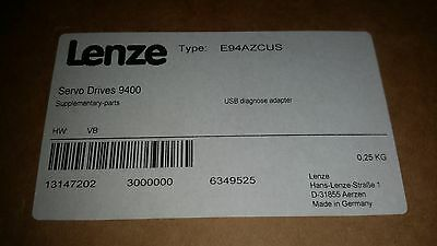 Lenze Servo Drives 9400 USB Diagnose Adapter E94AZCUS NEU /NEW