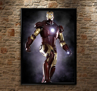 Iron Man Super Hero The Avengers Movie High-Quality Poster Print Art A1, A2, A3+