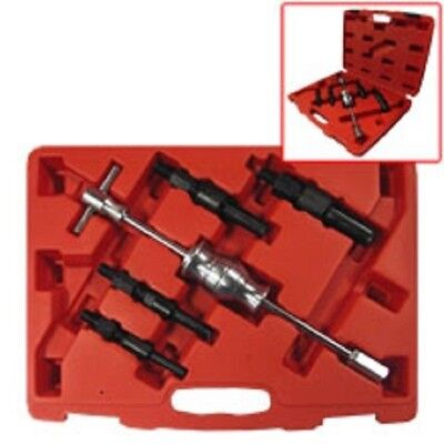 5pc Blind Hole Bearing Puller Sliding Hammer 4 Size Extractor Tools Set TAIT0014