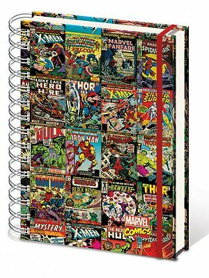 Marvel Comics - Comic Covers - A4 Notebook #