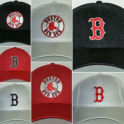 Boston Red Sox Air Mesh Pro Style Cap ✨Hat ✨CLASSIC MLB PATCH/LOGO ✨3 Color ✨NEW