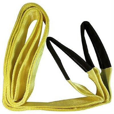 """IIT 3"""" x 13' YELLOW Heavy Duty Lifting Sling Carrying Moving Soft Handles 74790"""