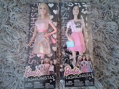 Barbie Fashionista Dolls x 2